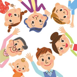 家族みんなで通えるサロンのイメージ